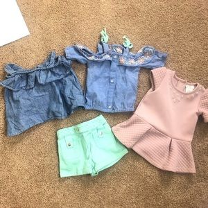 Bundle of 12 month baby girl clothes